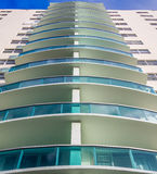Residential or hotel building Stock Image