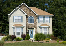 Residential house Royalty Free Stock Photos