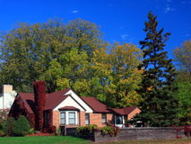 Residential house. In Minneapolis metro area Stock Photo