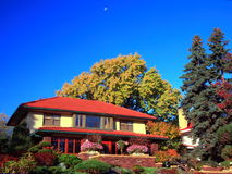 Residential house. In Minneapolis metro area, fall season Stock Images