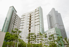 Residential house in beijing CBD Stock Photos