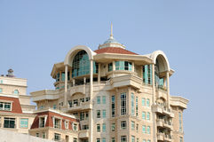 Residential house in Dubai Stock Images