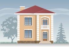 Residential house facade Stock Image
