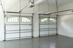 Residential house garage interior Royalty Free Stock Images