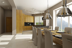 Residential house interior Stock Photography