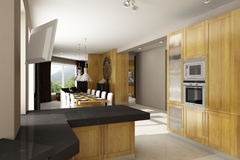 Residential house interior Stock Photos