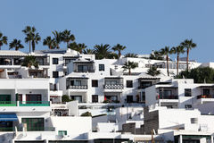 Residential house, Lanzarote Stock Photos