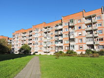 Residential house, Lithuania Royalty Free Stock Photos
