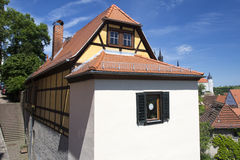 Residential house in Meissen Stock Images