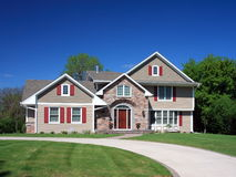 Residential house in Minneapolis Stock Image