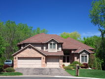 Residential house in Minneapolis Stock Images