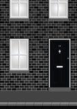 Residential House vector illustration