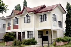 Residential House. An old residential house in the suburb in the Philippines Stock Photography