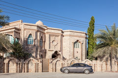 Residential house in Oman Royalty Free Stock Photo