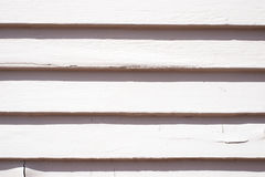 Residential house siding. Texture of white siding, house wall, grungy, horizontal royalty free stock images