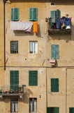 Residential. House in Siena, Italy Royalty Free Stock Photo