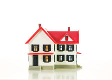 Residential house small model Royalty Free Stock Photo