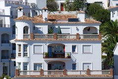 Residential house in Spain Stock Images