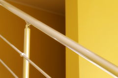 Residential house with stainless steel banister Stock Photo