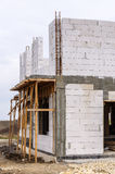 Residential house under construction Stock Photo