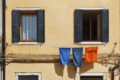 Residential house. In Venice, Italy royalty free stock photo