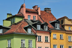 Residential houses Royalty Free Stock Photo