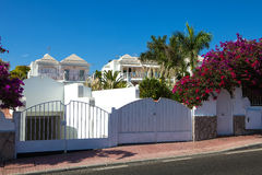 Residential houses Royalty Free Stock Photography