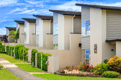 Residential houses Stock Photos