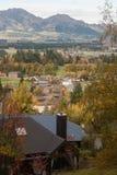 Residential houses in Hanmer Springs Stock Images