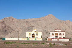Residential houses in Oman Royalty Free Stock Photography