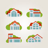 Residential houses. Royalty Free Stock Photography