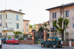 Residential houses on Via della Conciliazione Royalty Free Stock Photos