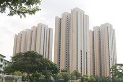 Residential housing apartment Stock Photos