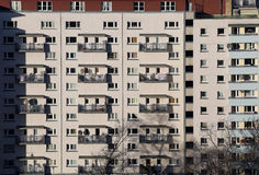 Residential housing apartments Stock Image