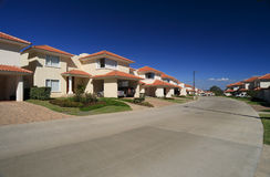Residential housing compound Stock Image