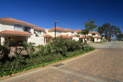 Residential housing compound Royalty Free Stock Photos