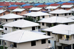 Residential Housing Development in Brunei Royalty Free Stock Photos