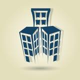 Residential icon design Royalty Free Stock Photos