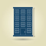 Residential icon design Royalty Free Stock Image