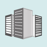 Residential icon design Stock Images