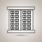 Residential icon design Royalty Free Stock Photography