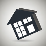 Residential icon design Stock Photography