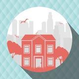 Residential icon design Royalty Free Stock Photo