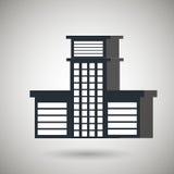 Residential icon design Stock Photos