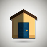 Residential icon design Royalty Free Stock Images