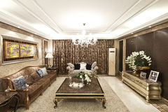 Residential interior decoration Royalty Free Stock Images