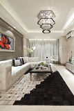 Residential interior decoration Stock Images