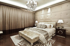 Residential interior decoration Royalty Free Stock Image