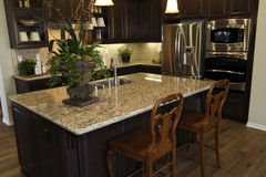 Residential kitchen. Stock Image
