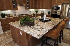 Residential kitchen. Stock Photos